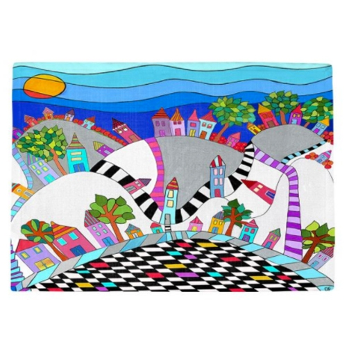 Happy Hills - Place Mats - SolDesign